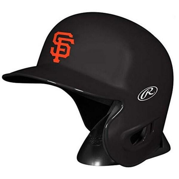 21e84198887af Rawlings MLB San Francisco Giants Mini Helmet Replica Baseball Collect  MLBRL-SF - Black -