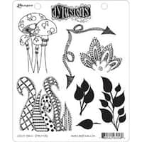 """Doodle Parts - Dyan Reaveley's Dylusions Cling Stamp Collections 8.5""""X7"""""""