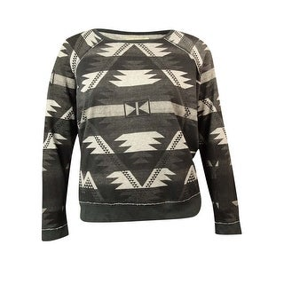 Ralph Lauren Women's Long-sleeve Geometric-print Sweatshirt - xL
