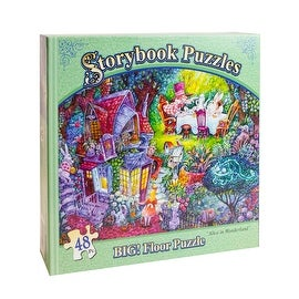 Storybook Puzzles: Alice in Wonderland - multi-color - 20.0 in. x 27.0 in.
