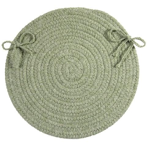 Bristol Wool Blend Round Chair Pads