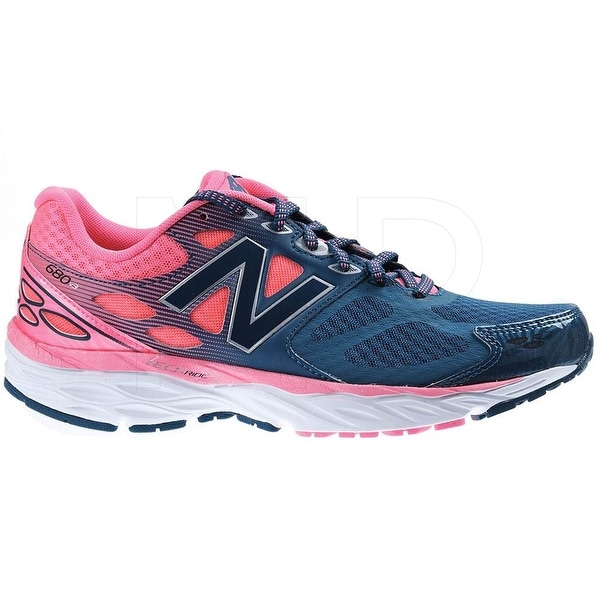 New Balance Womens W680RG3 Low Top Lace Up Running Sneaker - 6