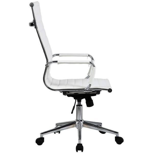 Shop 2xhome White Executive Ergonomic High Back Modern ...