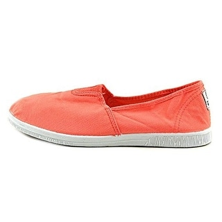 Natural World Womens Camping Canvas Slip On Casual Shoes