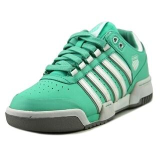 K-Swiss Gstaad Women  Round Toe Leather Green Sneakers