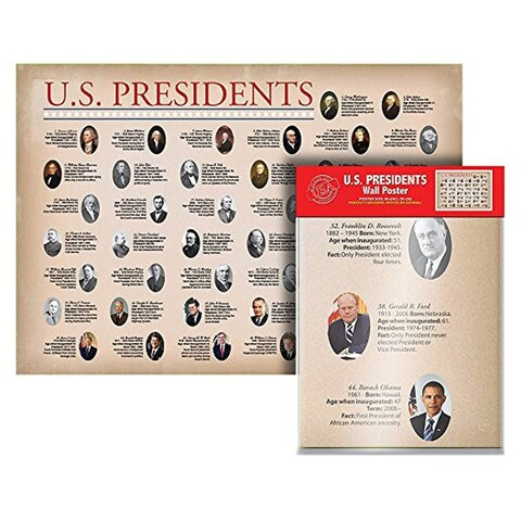Kappa United States Presidents Wall Poster, 40x28 - N/A