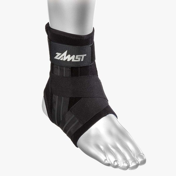 Medium Zamst A1 Left Ankle Brace Black