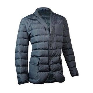 Tommy Hilfiger Men's Down Puffer Jacket (XL, Asphalt) - Asphalt - XL