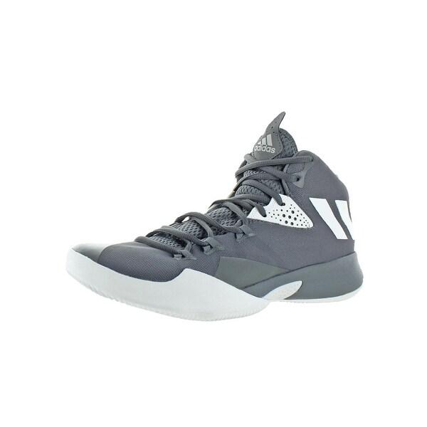 ae6648a4baf Adidas Mens Dual Threat 2017 Basketball Shoes Mid Top Lightweight