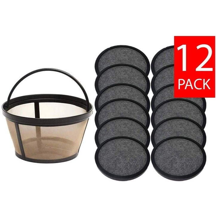 Premium  Replacement 24 Water Filter Discs for Mr.Coffee Machines Basket