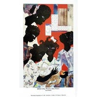 ''1954: One Room, One Book'' by James Denmark African American Art Print (35 x 21 in.)