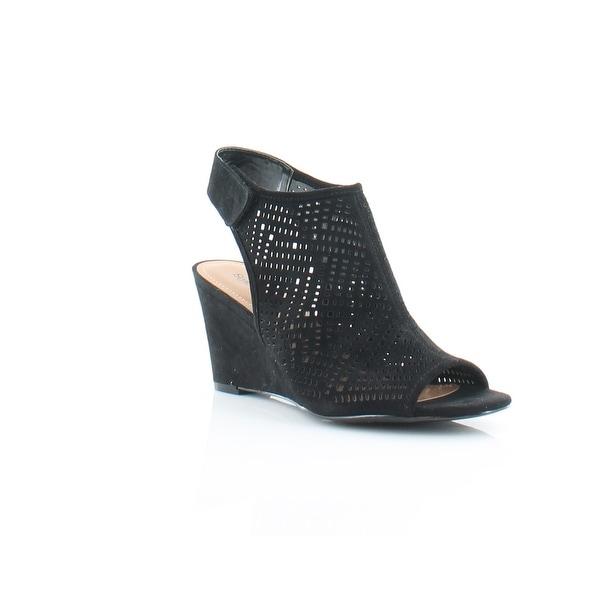 Style & Co. Heatherr Women's Sandals & Flip Flops Black - 6.5