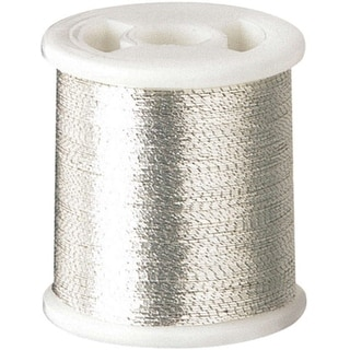 Kantan Couture Bead Embroidery Tool Thread 66yd-Silver - Silver