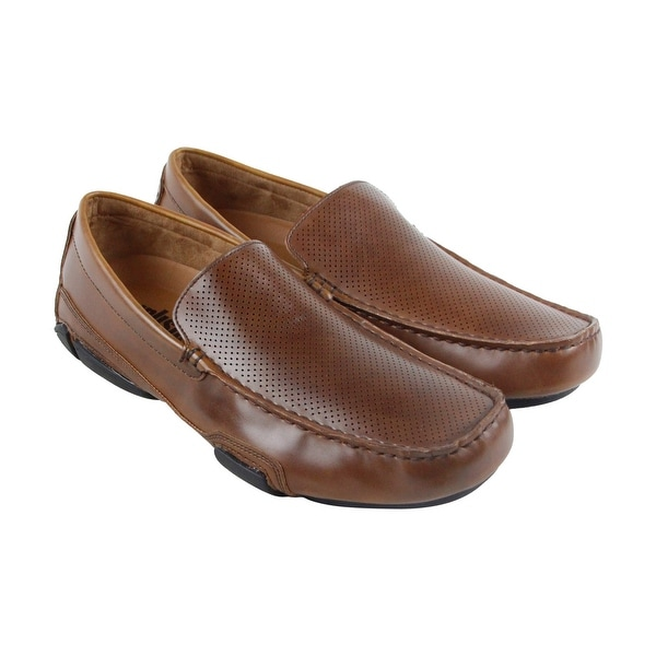 Unlisted by Kenneth Cole To Be Bold Mens Brown Casual Dress Loafers Shoes