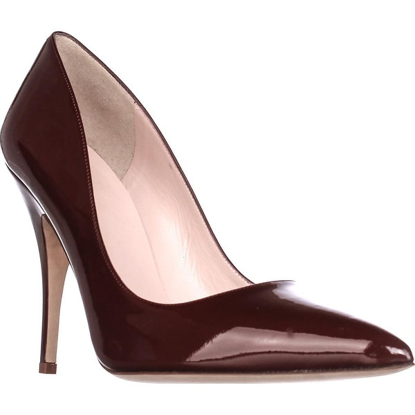 Kate Spade Licorice Pointed-Toe Dress Pumps, Red Chestnut - 9.5 us
