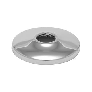 """ProFlo PFE7 Steel Deck Plate - 1/2"""" Faucet Connections"""