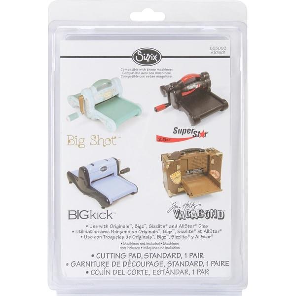 """Sizzix BIGkick/Big Shot/Vagabond Cutting Pads 1 Pair-Standard 8.75""""X6.125""""X.125"""""""