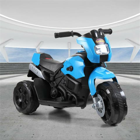 3 Wheel Kids Ride on Motorcycle 6v Battery Powered Electric Bicycle