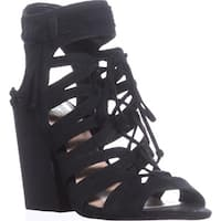 Vince Camuto Ranata Gladiator Sandals, Black