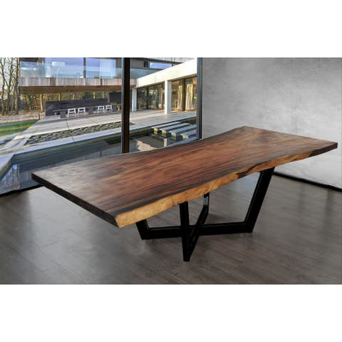SOLIS Arbor Live Edge Solid Wood Slab Table