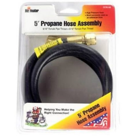 Mr. Heater F276148 Propane Extension Hose Assembly, 5'