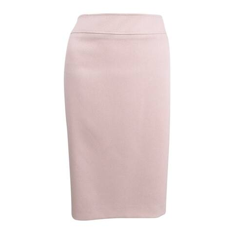 Tahari ASL Women's Plus Size Straight Skirt (20W, Cameo Pink) - Cameo Pink - 20W