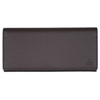"""Gucci Women's 274419 Brown Leather Continental Clutch Wallet - 7.5"""" x 3.75"""""""