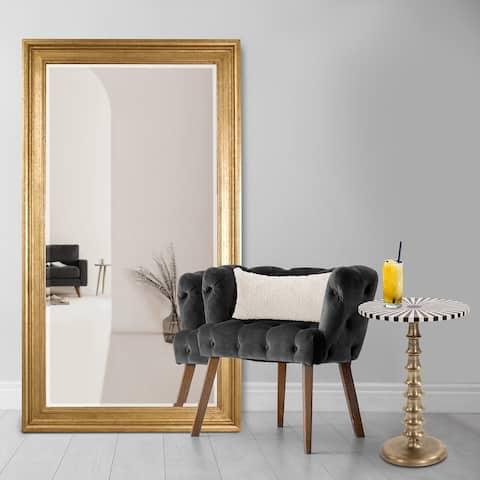 Allan Andrews Chandler Oversized Gold Resin Mirror
