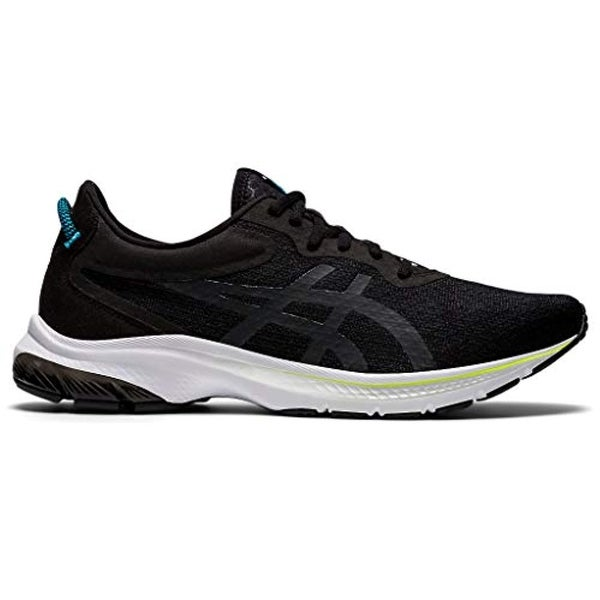 ASICS Men's Gel-Kumo Lyte 2 Running Shoes, Black/Digital Aqua. Opens flyout.