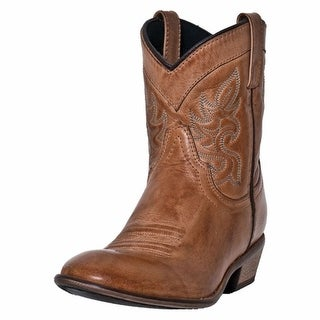 Dingo Western Boots Womens Willie Antique Collar Tan DI 862