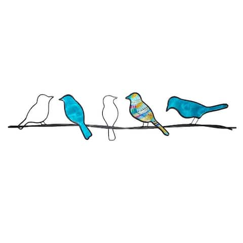 Birds On A Wire - 28 x 1 x 7
