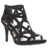 Fergalicious Histeria2 Studded Strappy Sandals, Black