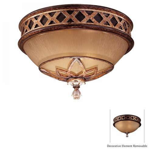 Minka Lavery ML 1755 2 Light Flush Mount Ceiling Fixture from the Aston Court Collection