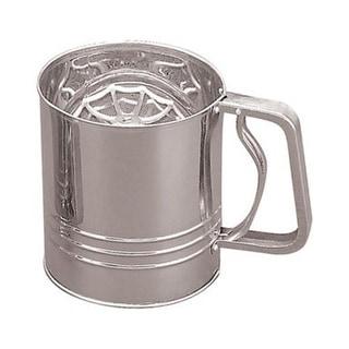 Fox Run 4654 Flour Sifter, 4-Cup, Stainless Steel
