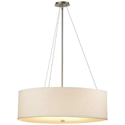 Forecast Lighting F670 A La Carte Ada Compliant White Gr Cloth Shade From The