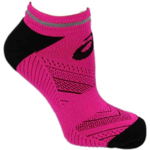 Asics Womens Lite-Show Low Cut Running Athletic Socks Socks