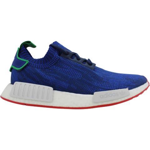 Adidas NMD R1 PK Blue/Green-White Rue Des Rosiers Paris AQ0903 Men's