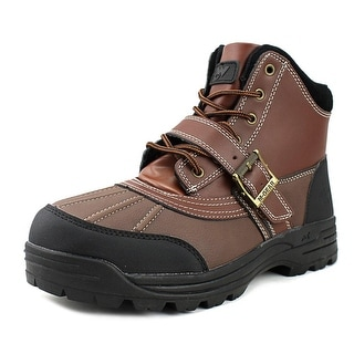 Mountain Gear Legend Men  Round Toe Leather Red Boot
