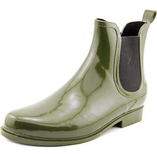 Electric Karma Jet Stream Women Round Toe Synthetic Green Rain Boot