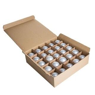 Hometown Evolution Inc G40WPBOX Case of (25) White Satin G40 Globe Lights for String Light Sets with Candelabra (E12) Bases