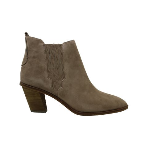 Vince Camuto Womens Halissa Suede Closed Toe Ankle Fashion Boots