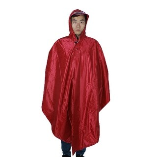 Mefine Authorized Outdoor Rainwear Bicycle Cycling Raincoat Rain Poncho Red