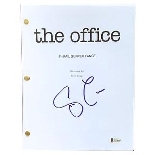 Steve Carrell Signed The Office TV Episode Email Surveillance Script BAS
