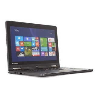 "Lenovo ThinkPad S1 Yoga 12.5"" Refurb Laptop - Intel i7 1.8 GHz 8GB 256GB SSD Win 8.1 Pro - Webcam, Touchscreen, Bluetooth"