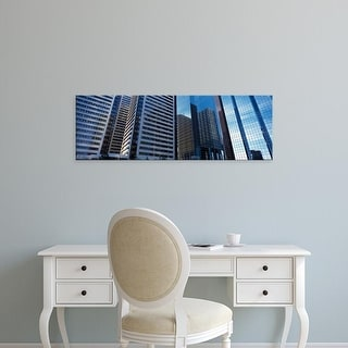 Easy Art Prints Panoramic Images's 'Skyscrapers in a city, Calgary, Alberta, Canada' Premium Canvas Art
