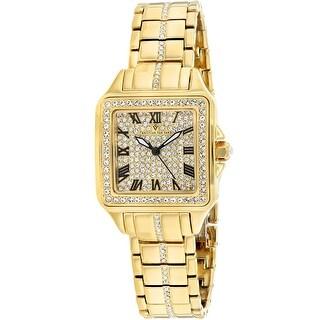 Christian Van Sant Women's Splendeur CV4621 Gold Dial watch