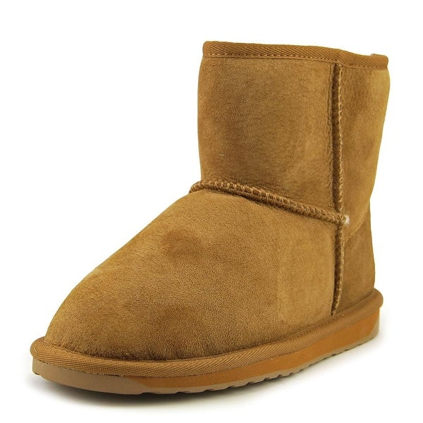 Emu Australia Stinger Mini Women Round Toe Suede Brown Winter Boot