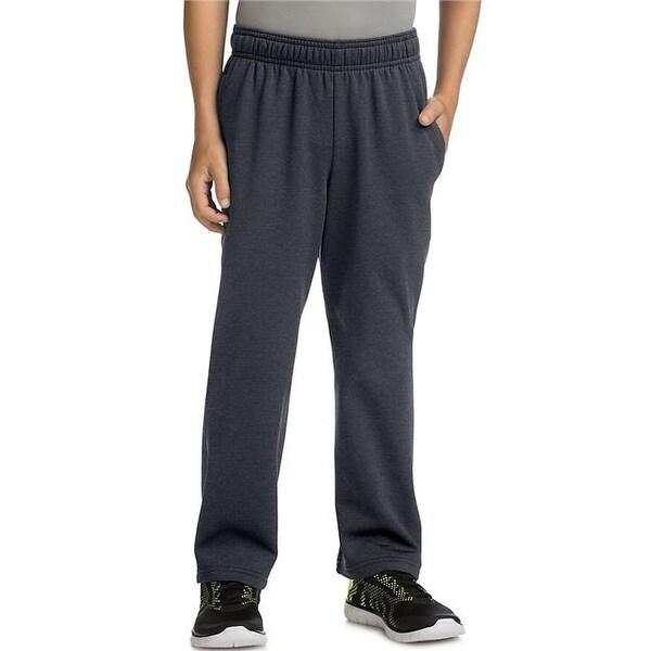 0f20f0403936 Shop Hanes 738994317346 Boys Tech Fleece Open Leg Pants - Small - Free  Shipping On Orders Over  45 - Overstock - 23185759