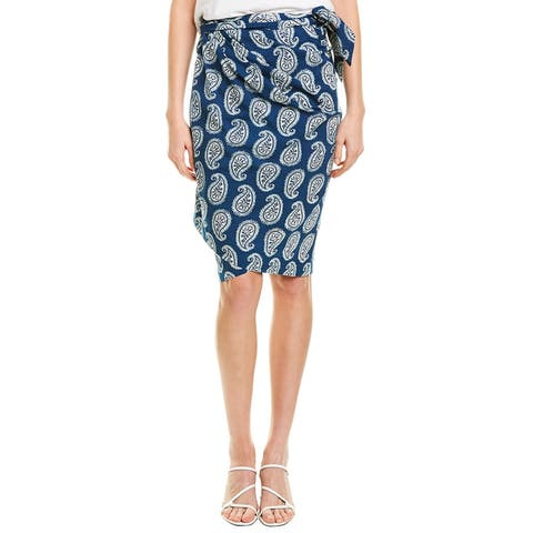 Fifteen Twenty Printed Wrap Skirt