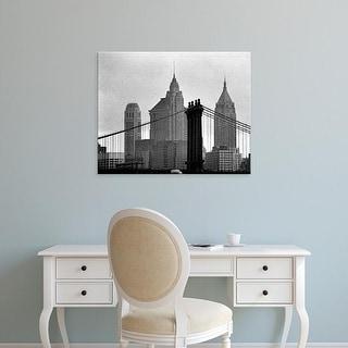 Easy Art Prints Jeff Pica's 'Bridges of NYC VI' Premium Canvas Art